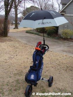 clicgear umbrella holder instructions