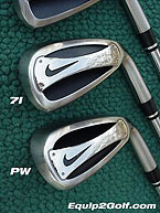 Golf club irons for high handicappers